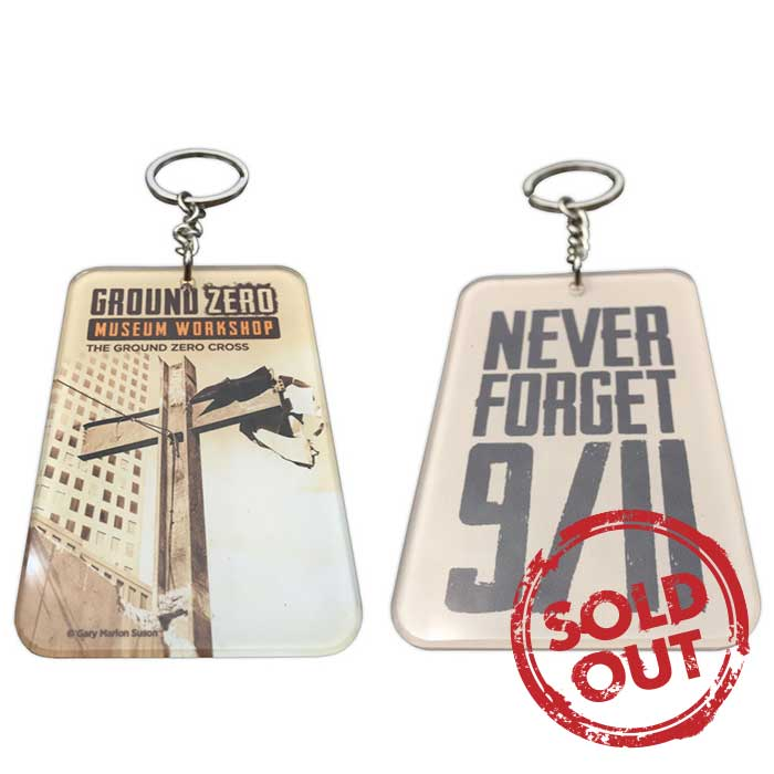 Buy Ground Zero Cross Keychains at 9/11 Museum Store