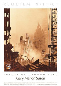 16 in. x 22 in. Poster <br> Sunset at Ground Zero