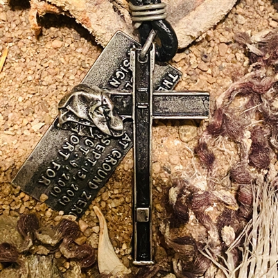 World Trade Center Cross Necklace | Ground Zero Museum Store