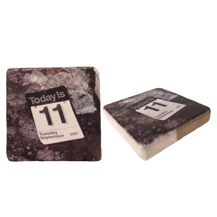 Today is Tuesday 11th Italian Marble Magnet