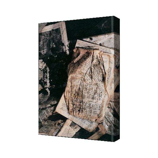 """WTC Bible Page"" Canvas 24 in. x 36 in."
