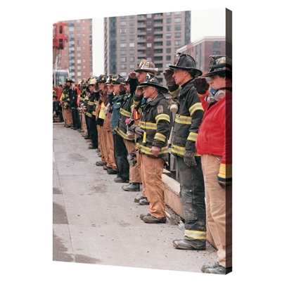 FDNY Salute | Ground Zero Honor Guard Canvas 24 in. x 36 in.