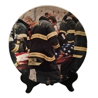 FDNY Honor Guard Porcelain Plate