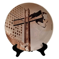 World Trade Center Cross Porcelain Plate