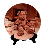 Bernard the Bear Porcelain Plate