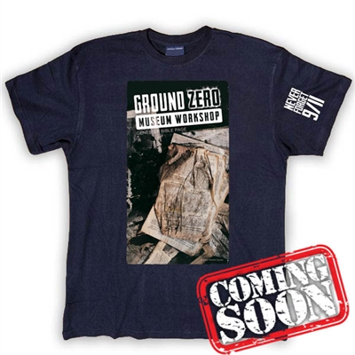 The Ground Zero Bible Page T-Shirt
