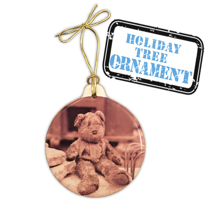 Christmas Tree Ornaments - Ground Zero Museum Store | Bernard The Bear