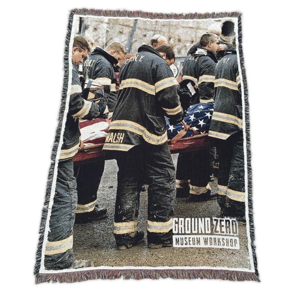 FDNY WTC Honor Guard Woven Throw