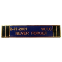 9-11-2001 WTC Never Forget Lapel Pin