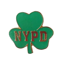 NYPD Cloverleaf Pin