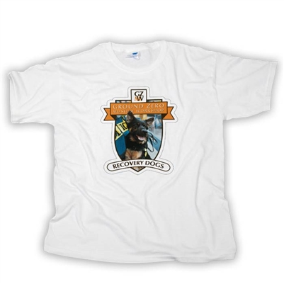 "K-9 Recovery Dogs ""Never Forget"" T-Shirt"
