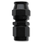 #6 Straight PTFE Hose End Black