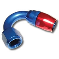 136 Series #8 150 Degree Single Nipple Hose End