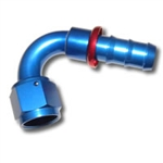 436 Series #12 120 Degree Push Fit Hose End