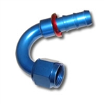 436 SERIES #6 150 DEGREE PUSH FIT HOSE END