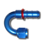 436 Series #6 180 Degree Push Fit Hose End