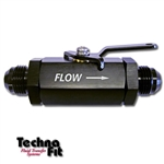 #10 Shut-Off Valve - Black Aluminum