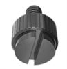 "A 10 pack of our high quality Slotted Head Nylon thumbscrews (1/4"" threads)."