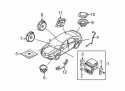 Roger Beasley Hyundai >> Hyundai Sonata Woofer | Hyundai OEM Part Number 96380-3S200