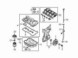 Roger Beasley Hyundai >> Hyundai Santa Fe Dipstick | Hyundai OEM Part Number 26611 ...