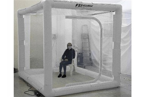 F-DAT1R-99 - ISOLATION ROOM - 9' X 9' X 8' H