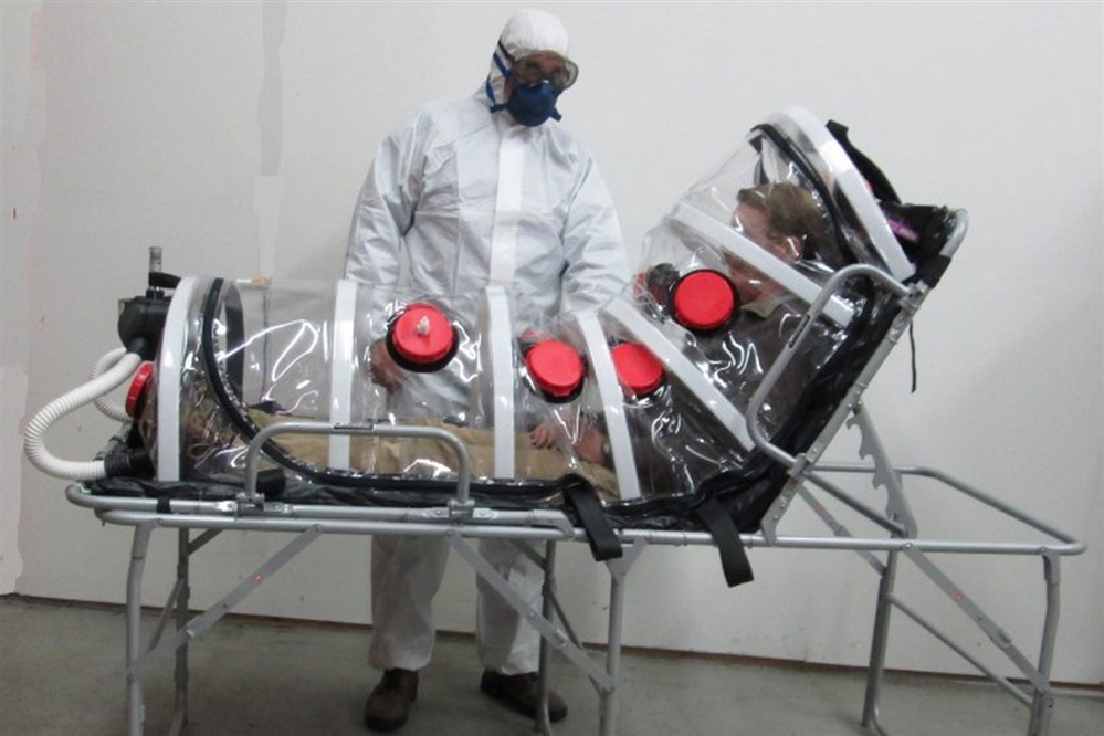 F-INPIC-5A - PATIENT ISOLATION CHAMBER TRANSPORT UNIT - CBRN FILTERS
