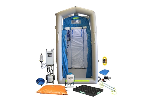 DAT®1010S-SYS - FIRST RESPONDER DECON SHOWER SYSTEM PACKAGE