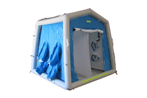 DAT®3030S - NON-AMBULATORY MASS CASUALTY DECON SHOWER SYSTEM - 2 LINE