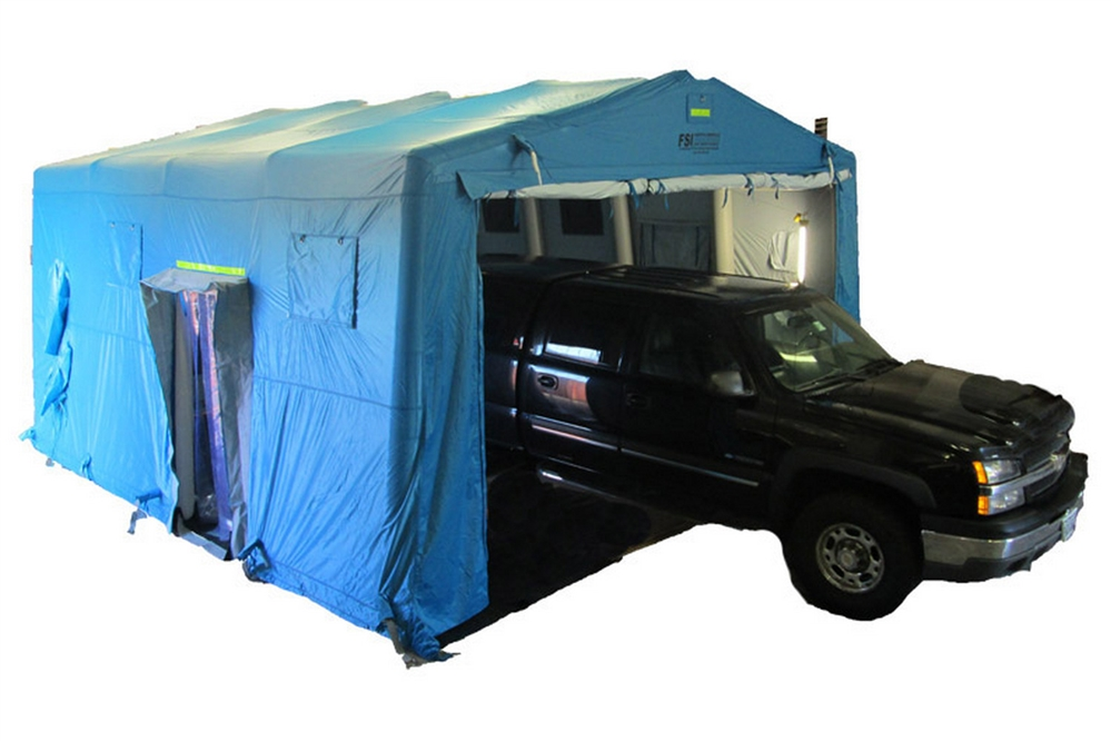 DAT®4400SP-DTGR DRIVE THROUGH SHELTER - 1 LANE - 1 VEHICLE