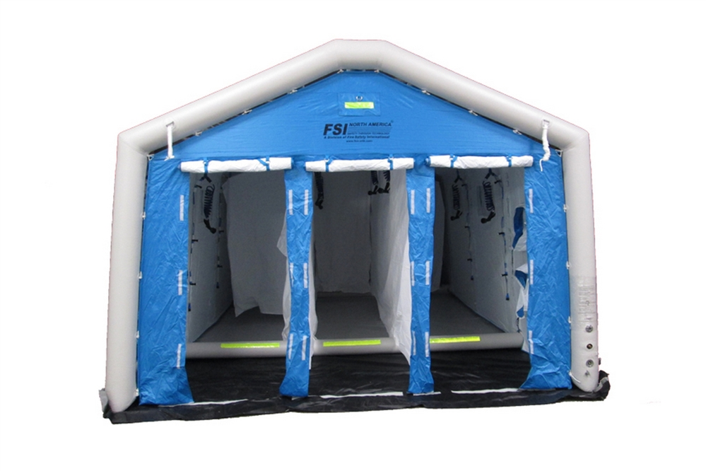 DAT®6000S-3L - RAPID DEPLOY DECON SHOWER SYSTEM - 3 LINE, 4-5  STAGE