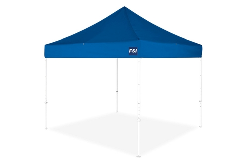 DATEZ100 - ECONOMY POP-UP OPEN SIDED SHELTER - 10' X 10' X 8' H