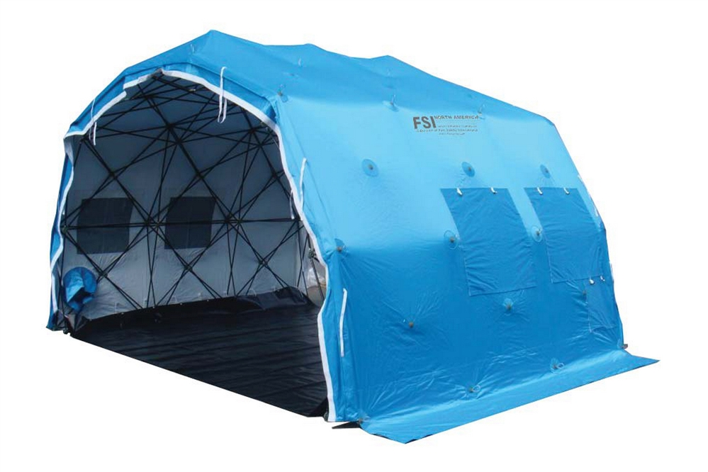DAT® QE1310 - QUICK ERECT MULTI-PURPOSE RAPID DEPLOYMENT SHELTER SYTEM - 150 SQ. FT.