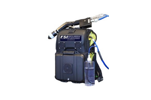 F-EEDSS-BP2STB  - ELECTROSTATIC BACKPACK DECON SHOWER / SPRAYER SYSTEM