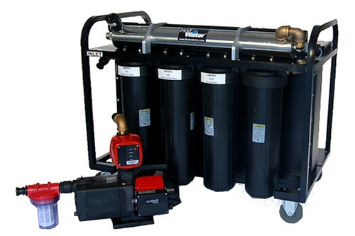 F-FWRS-1200M - MOBILE WATER FILTRATION SYSTEM - 20 GPM - EXTERNAL BATTERY POWERED