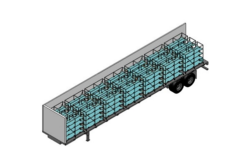 F-MORT-5384BT - MORTUARY TRAILER SYSTEM