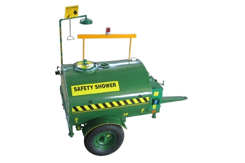 F- RTS112 - SAFETY TANK SHOWER MOBILE TRAILER SYSTEM - ELECTRICAL CONNECTION - 2000 LITER