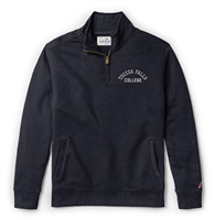 League Stadium Quarter Zip TFC Fall Navy Sweater