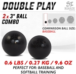 Si Boards 3 inch Mini Balls for Baseball and Softball