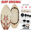 Si Boards Surf Original Combo with Balls, Half Balls and Resistance Bands