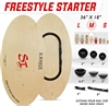 Si Boards Freestyle Starter Combo 5 In 1 System