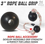Si Boards 3 inch power rope ball grip
