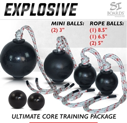 Si Boards Explosive Power Rope Ball Combos