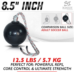 Si Boards 8.5 inch Large Rope Ball