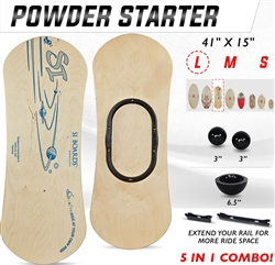 Si Boards Powder Starter balance board