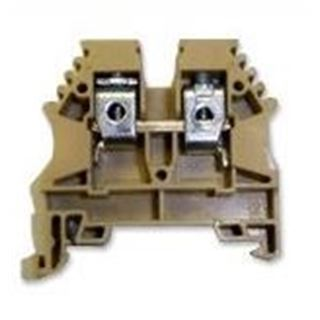 SolaDeck 1451 > DIN Mount Terminal Block, Rated to 600V 65 Amps