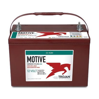 Trojan 22-AGM > 12V, 52Ah, Deep-Cycle AGM Battery