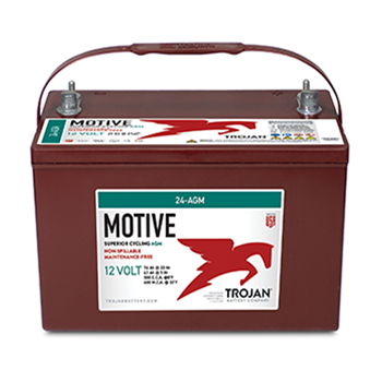 Trojan 24-AGM > 12V, 84Ah, Deep-Cycle AGM Battery