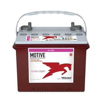 Trojan Motive 24-GEL 77Ah 12VDC Group 24 Deep-Cycle Gel Battery