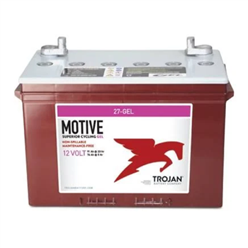 Trojan Motive 27-GEL 91Ah 12VDC Group 27 Deep-Cycle Gel Battery