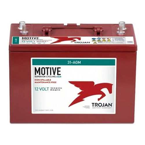 Trojan 31-AGM > 12V, 111Ah, Deep-Cycle AGM Battery